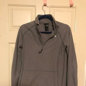 He north face Fleece Quarter Zip